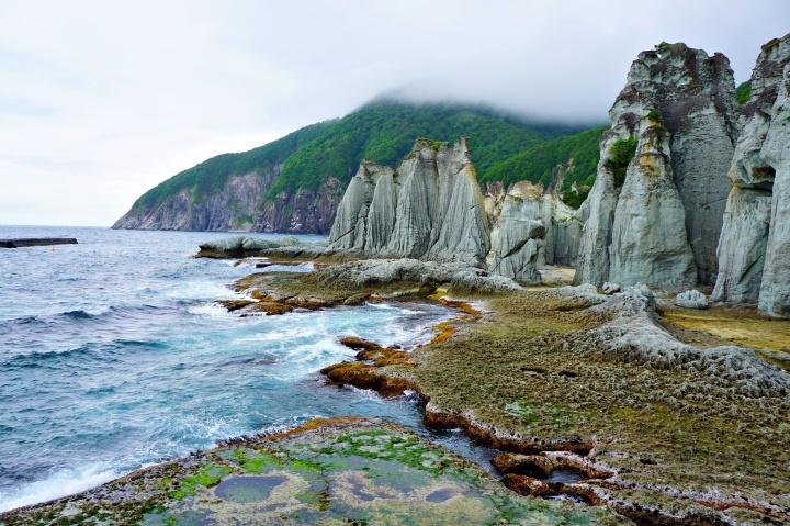 Hotokegaura cliffs